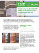 Engineering students fortify library of invaluable works